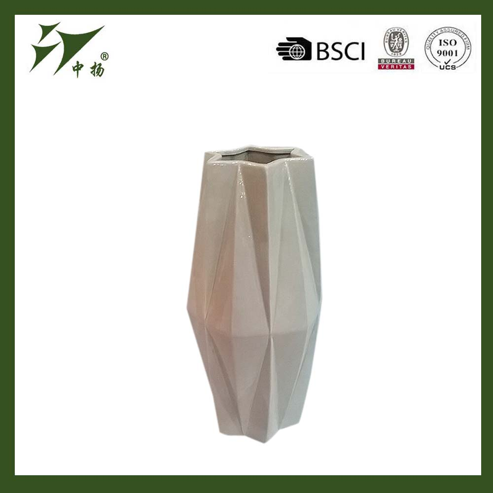 Hot Sell Cheap Ceramic Flower Vase For Home And Wedding Decoration