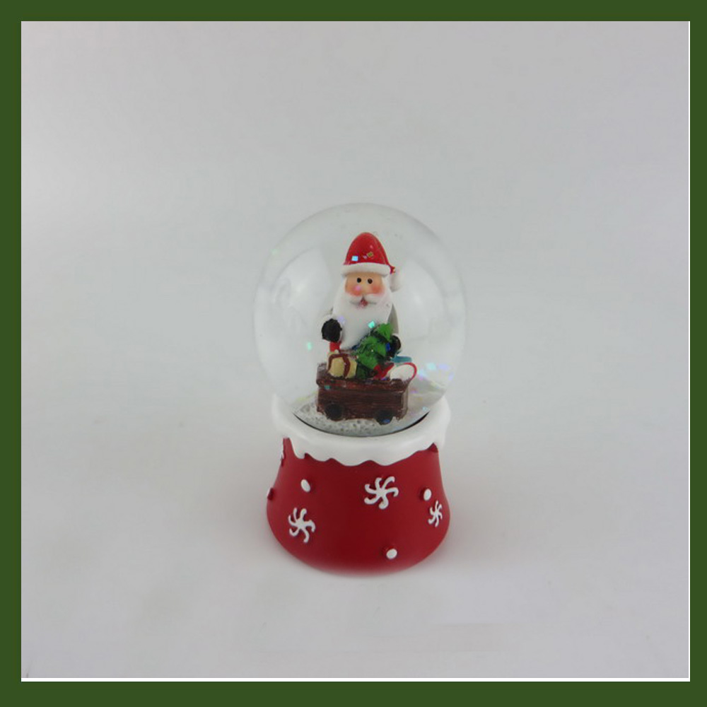 Home decor Santa Crafts birthday gifts snow globe